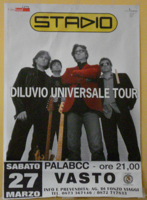 Vasto, 27 marzo 2010, concerto degli Stadio