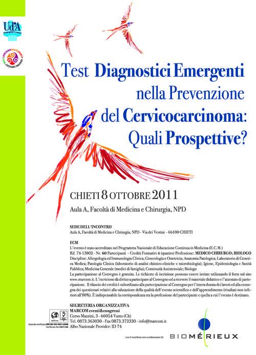 Test diagnostici emergenti nella prevenzione del Cervicocarcinoma: quali prospettive?