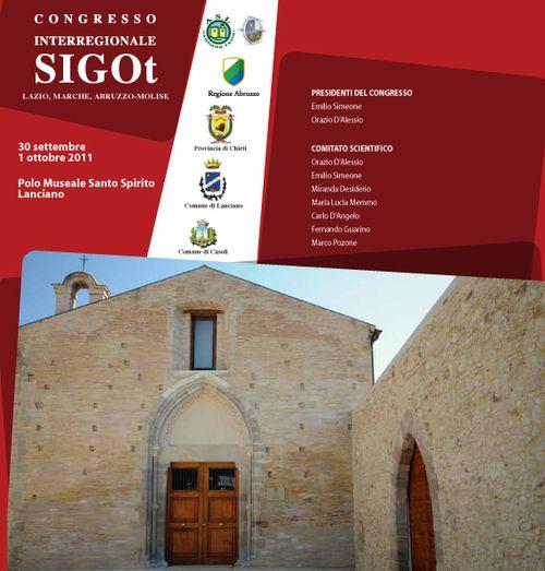 Congresso interregionale SIGOT Lazio Marche Abruzzo-Molise