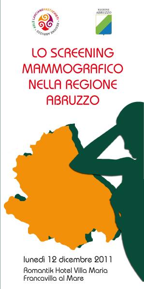 12 dicembre 2011 - Francavilla al Mare - Lo screening mammografico nella regione Abruzzo