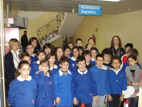 la visita degli alunni al Centro Trasfusionale di Chieti