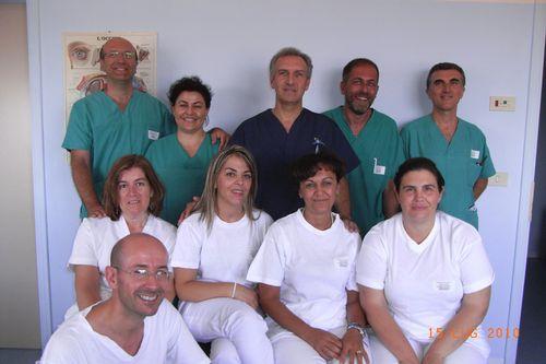 Foto - équipe oculistica ospedale Lanciano
