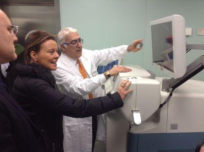 il Ministro Beatrice Lorenzin e il professor Leonardo Mastropasqua
