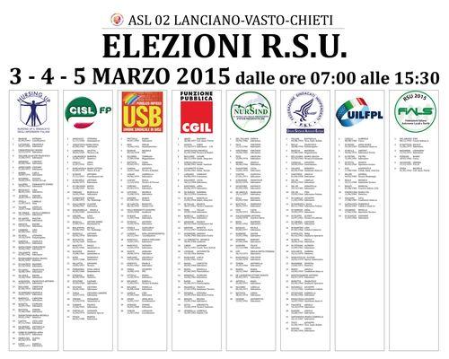 Candidati elezioni RSU 2015