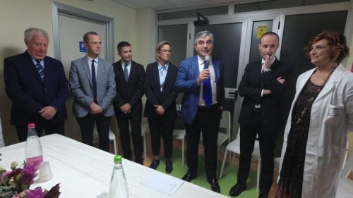 Inaugurazione della nuova Piastra ambulatoriale pediatrica nell'Ospedale di Chieti