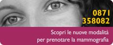 Sportello mammografie Chieti