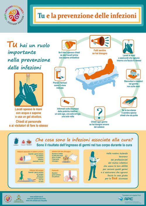 Locandina - Tu e le infezioni