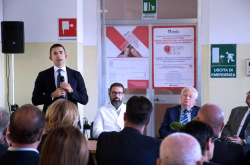 Inaugurazione Clinica Dermatologica a Ortona. Foto Ufficio stampa Giunta regionale Abruzzo