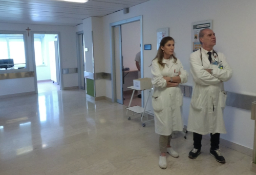Valeriana Falzano, Ermanno Angelucci
