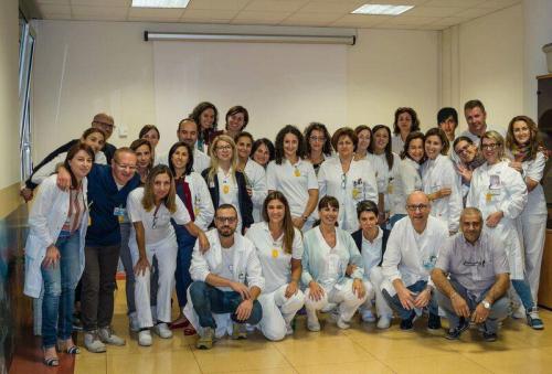 Lo staff della Radioterapia oncologica di Chieti