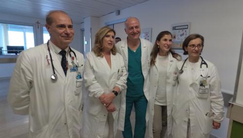 Clinica medica Chieti - Una parte dello staff