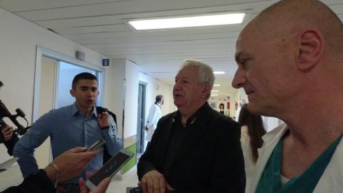 da sinistra Silvio Paolucci, Pasquale Flacco, Francesco Cipollone