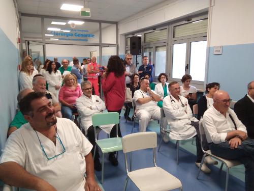Inaugurata la nuova Chirurgia a Lanciano