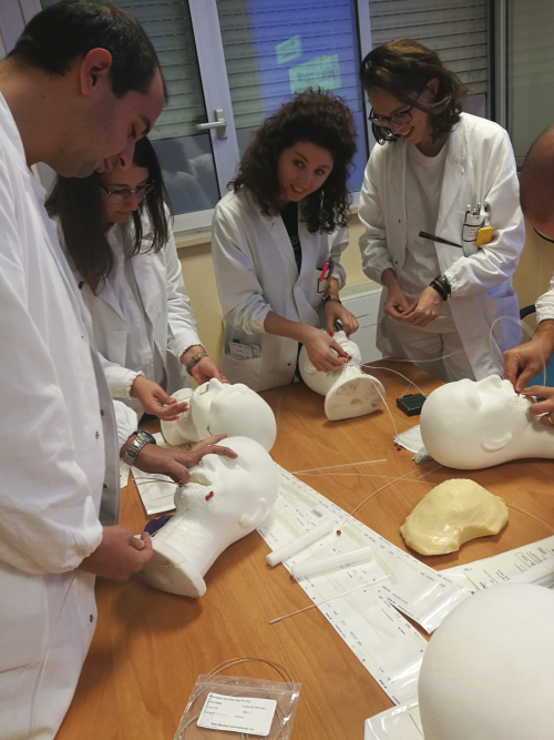 181024 -esercitazione Brachiterapia staff Chieti corso