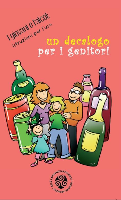 Alcol - decalogo per i genitori