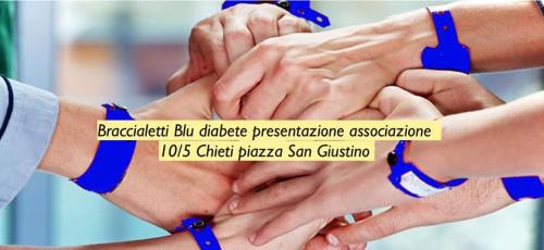 Braccialetti blu - Chieti 10 maggio 2019